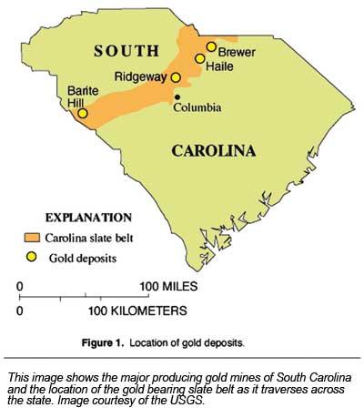 Gold Deposits Of South Carolina - September 2008 (Vol. 78, No. 1 ...
