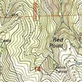 Map of the Red Point Mine, California.