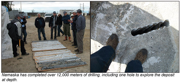 Drilling for lithium deposits