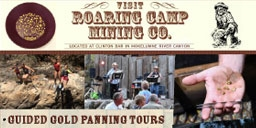 Guided Gold Panning Tours - Overnight Camping - Saturday Night Cookouts!