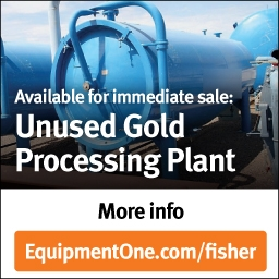 Fisher Gold Processing Plant For Sale