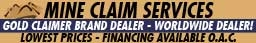 Gold Claimer Brand Dealer plus Mine Claim Services: Surveying - Mapping - Locating - MORE!