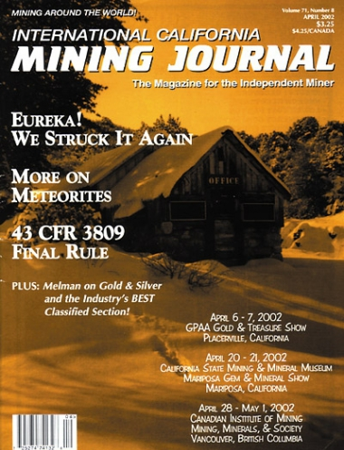 April 2002 (Vol. 71, No. 8)