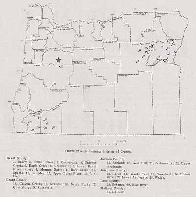 Gold At Quartzville Oregon June 1999 Vol 68 No 10 Icmj S