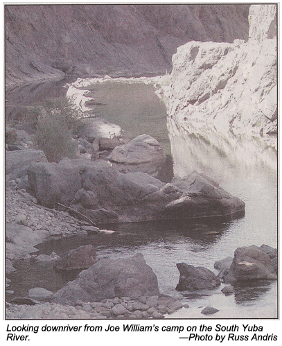 Recreational Dredging on the South Yuba River - October 2000