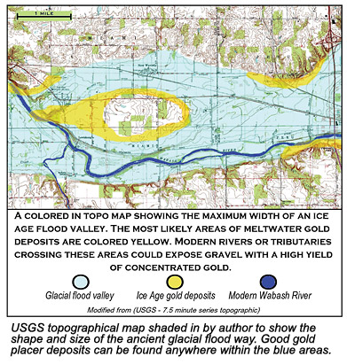 USGS topographical map.