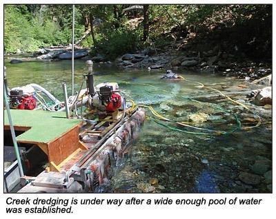 River Dredging vs  Creek Dredging—Part II - January 2012