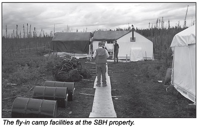 Camp facilities.