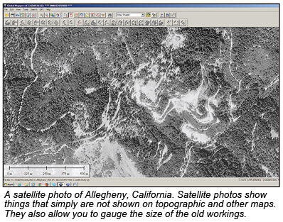 Using google earth and other maps november 2012 vol 82 no 3 to use the program is that the images created by google earth are copyrighted and therefore cannot be freely displayed in this magazine satellite map gumiabroncs Choice Image