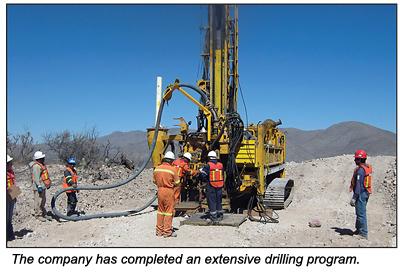 Drilling.