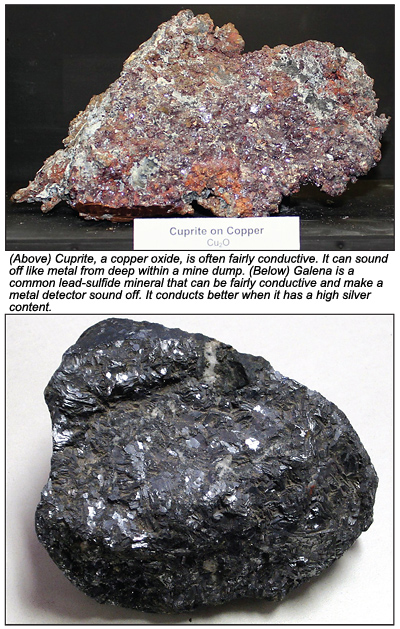 Conductive Minerals and Your Metal Detector - August 2014 (Vol  83