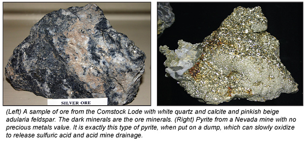 Gangue Minerals - What Do They Tell Us? - - ICMJ's