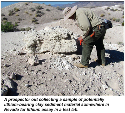 Lithium Mines In Nevada >> Nevada S Lithium Boom Icmj S Prospecting And Mining Journal